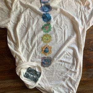 Third Eye Threads Shirts - Third Eye Threads Men's Yoga Tee Shirt - Large